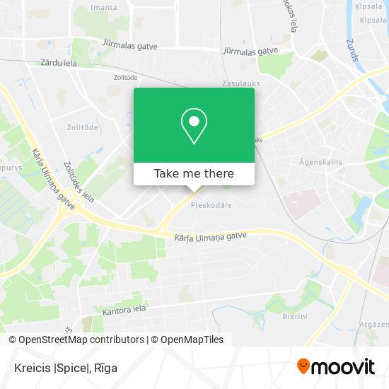 Kreicis  Spice  map