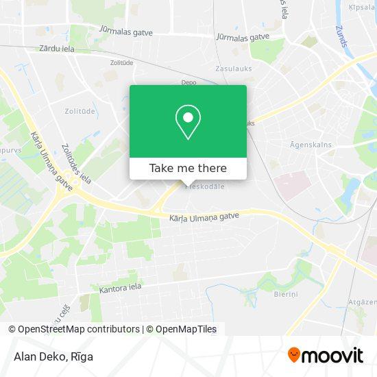 Alan Deko map