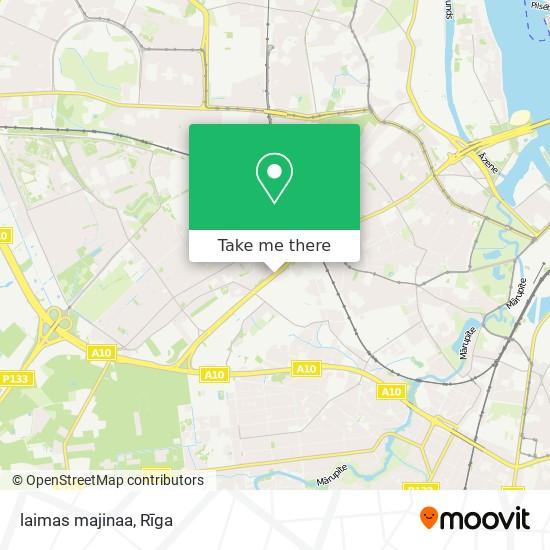 laimas majinaa map