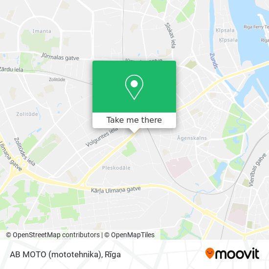 AB MOTO (mototehnika) map
