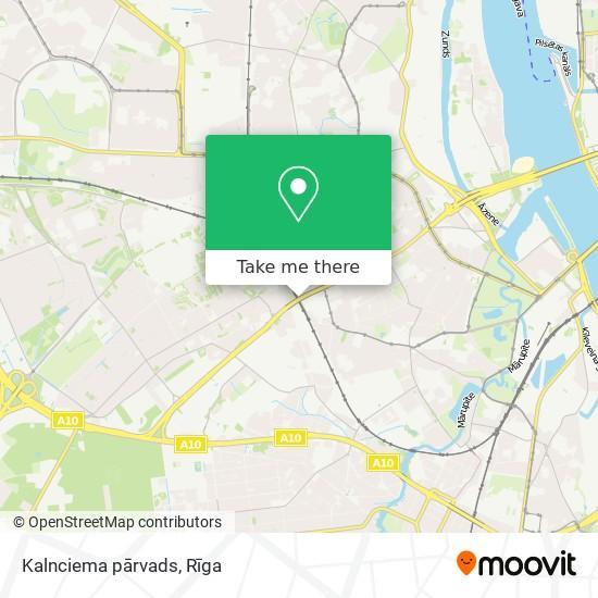 Kalnciema pārvads map
