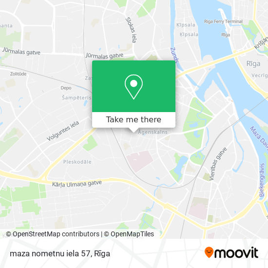 maza nometnu iela 57 map