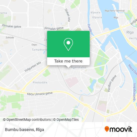 Bumbu baseins map