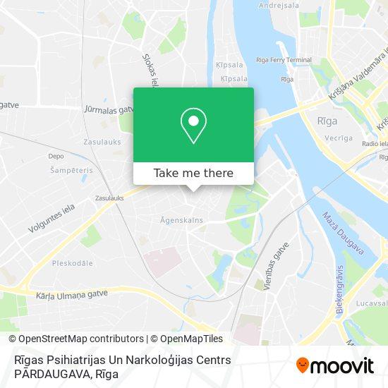 Rīgas Psihiatrijas Un Narkoloģijas Centrs PĀRDAUGAVA map