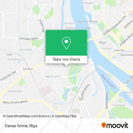 Danas home map
