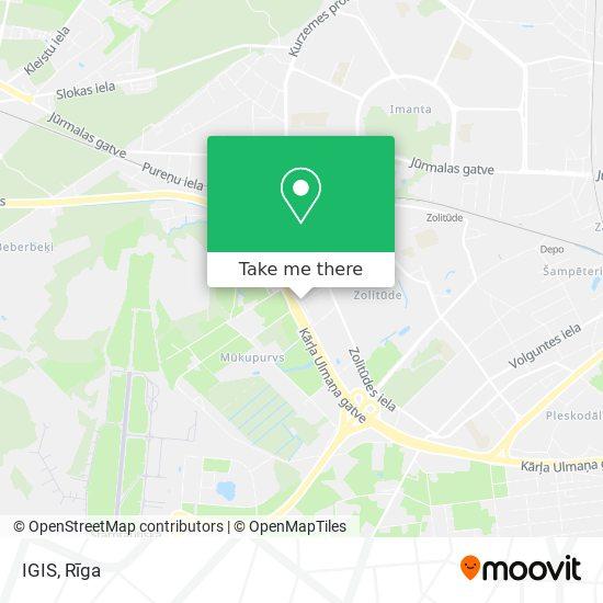 IGIS map