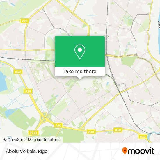 Ābolu Veikals map