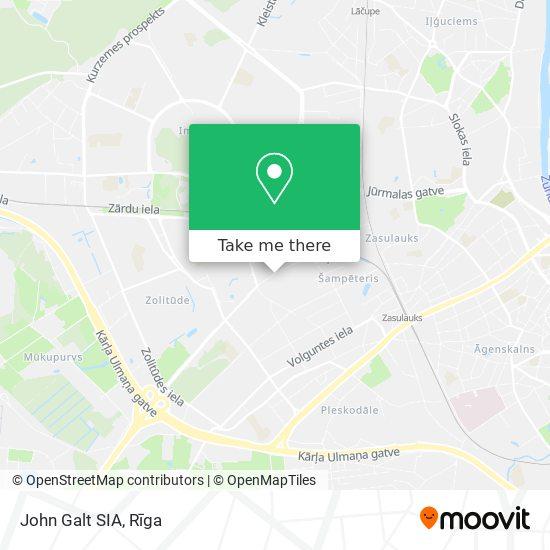 John Galt SIA map