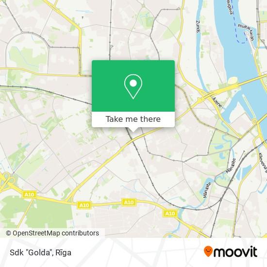 "Sdk ""Golda"" map"