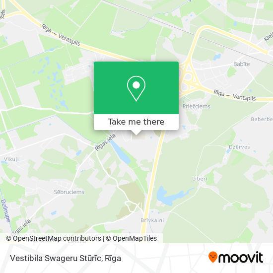 Vestibila Swageru Stūrīc map