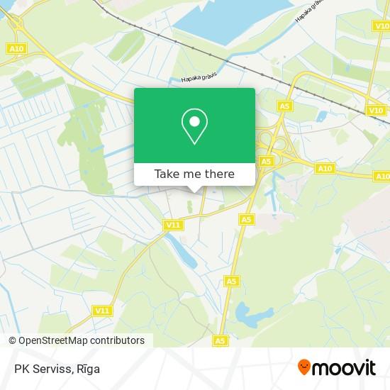 PK Serviss map