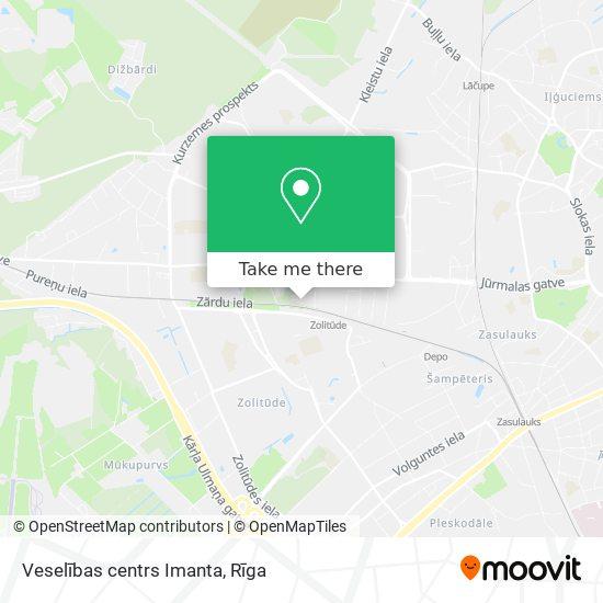 Veselības centrs Imanta map