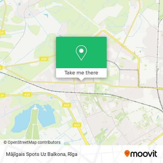 Mājīgais Spots Uz Balkona map
