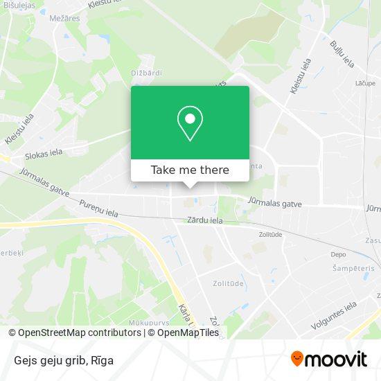 Gejs geju grib map
