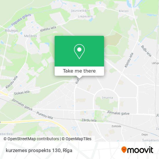 kurzemes prospekts 130 map