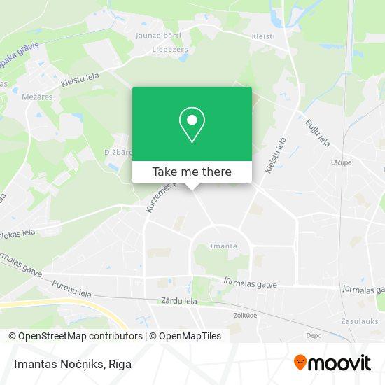 Imantas Nočņiks map