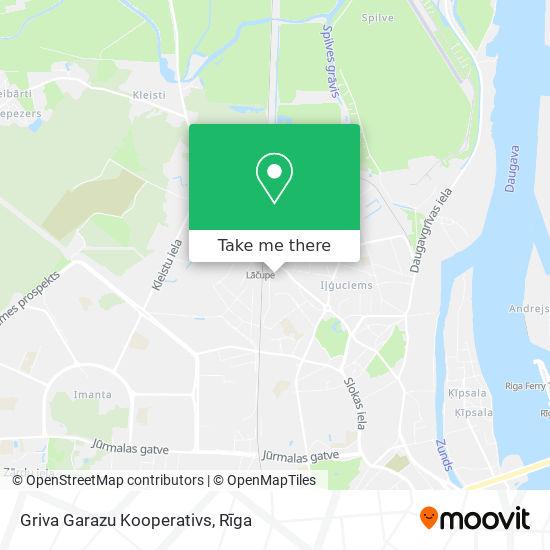 Griva Garazu Kooperativs map