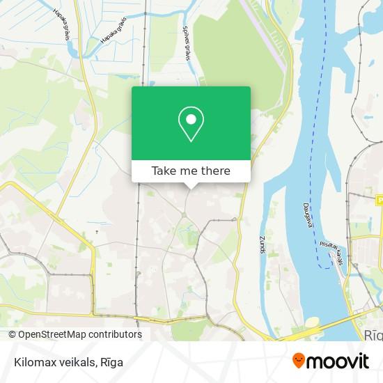 Kilomax veikals map