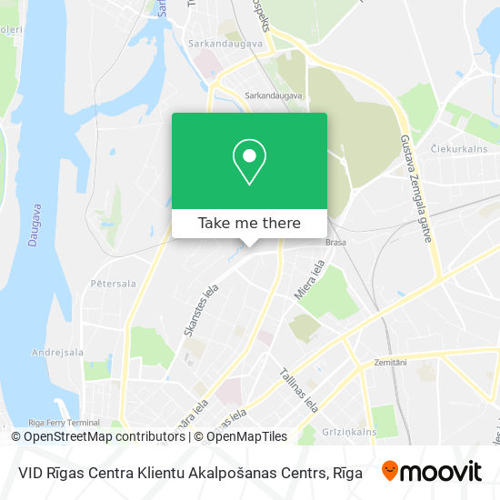 VID Rīgas Centra Klientu Akalpošanas Centrs map