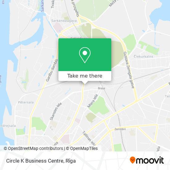 Circle K Business Centre map