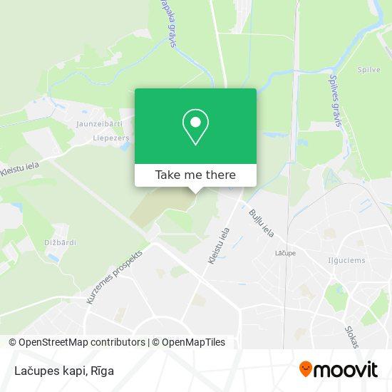 Lačupes kapi map