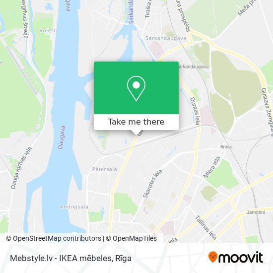 Mebstyle.lv - IKEA mēbeles map