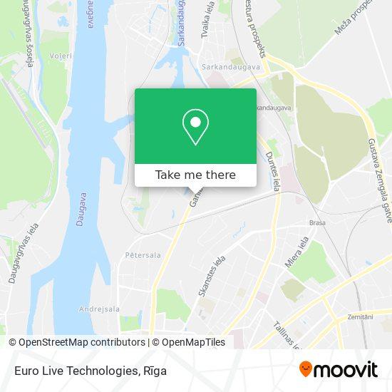 Euro Live Technologies map