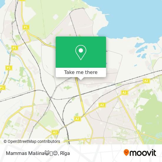 Mammas Mašina😺🙆😊 map