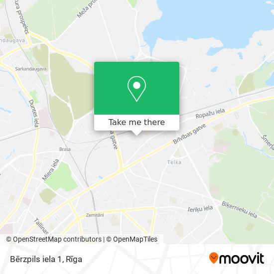 Bērzpils iela 1 map