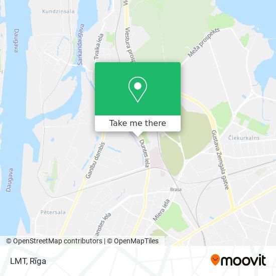 LMT map