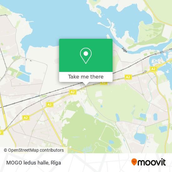 MOGO ledus halle map
