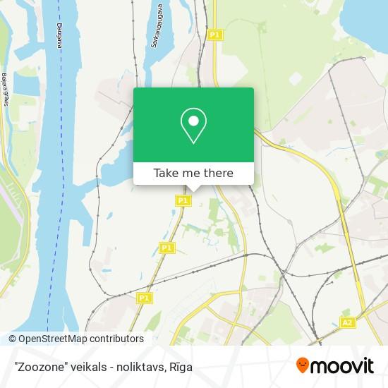 """""""Zoozone"""" veikals - noliktavs map"""
