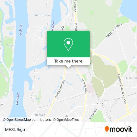 MESI map