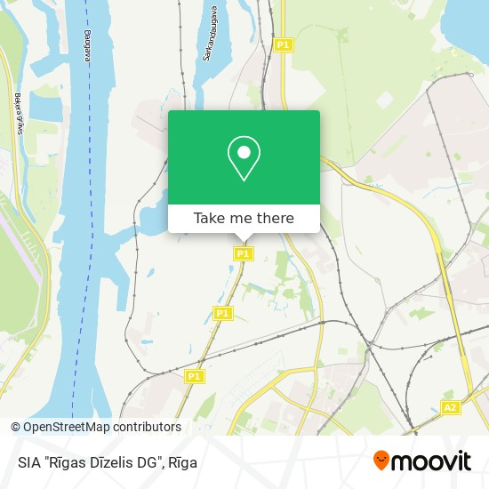 """SIA """"Rīgas Dīzelis DG"""" map"""