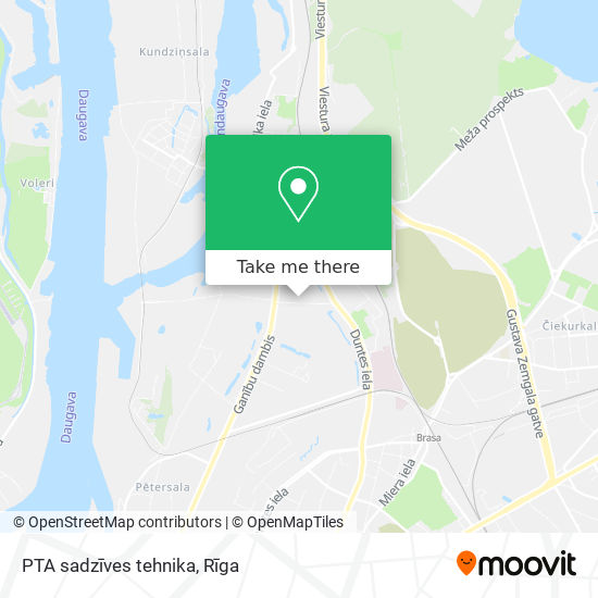 PTA sadzīves tehnika map