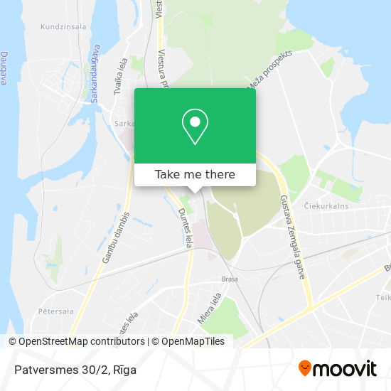 Patversmes 30/2 map