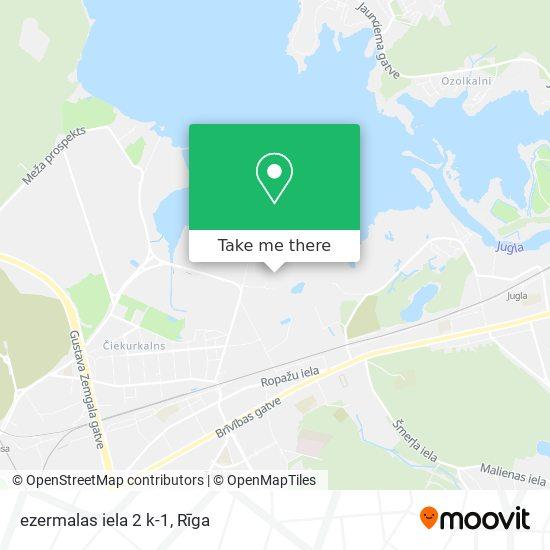ezermalas iela 2 k-1 map