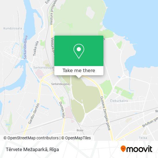 Tērvete Mežaparkā map