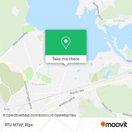 RTU MTAF map