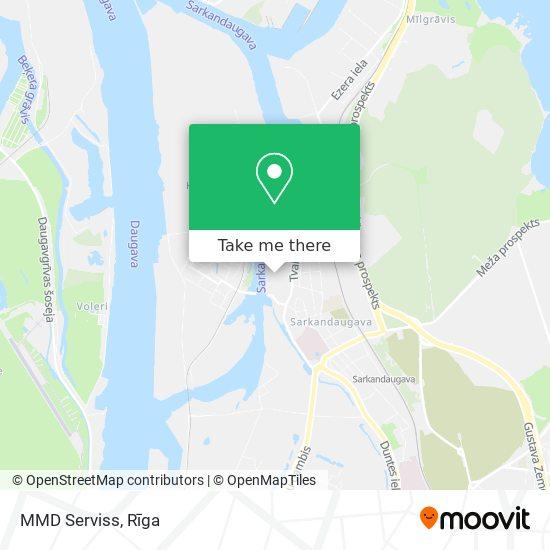 MMD Serviss map