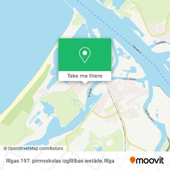 Rīgas 197. pirmsskolas izglītības iestāde map
