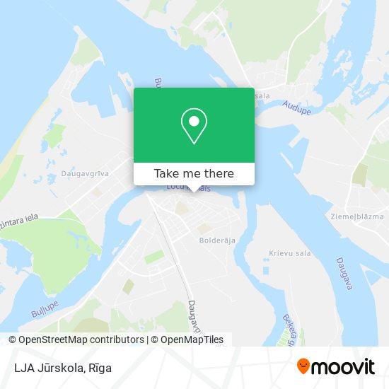 LJA Jūrskola map