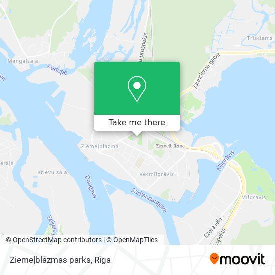 Ziemeļblāzmas parks map