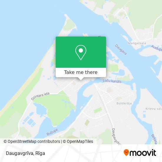 Daugavgrīva map