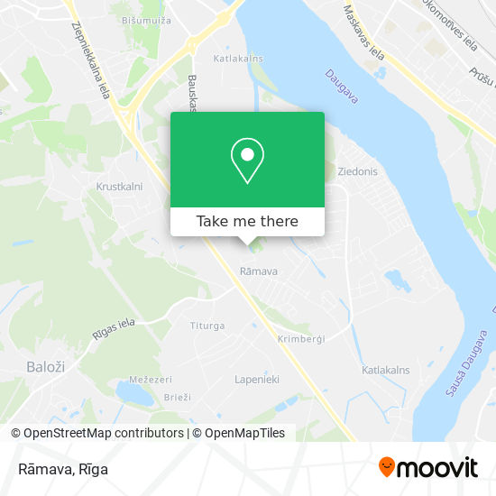 Rāmava map