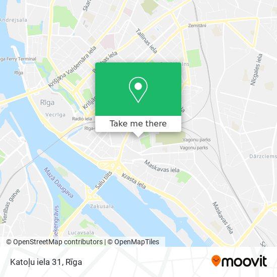 Katoļu iela 31 map
