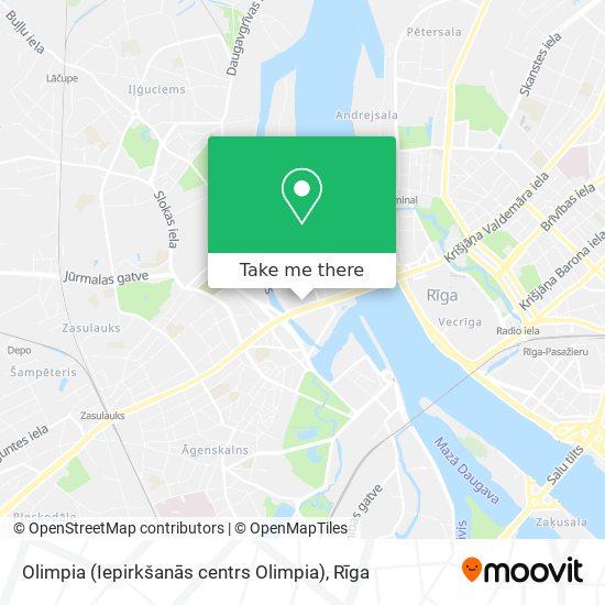 Olimpia (Iepirkšanās centrs Olimpia) map