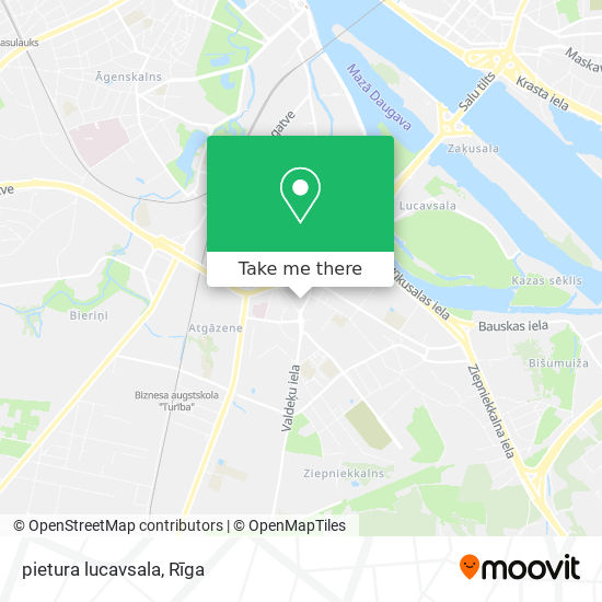pietura lucavsala map