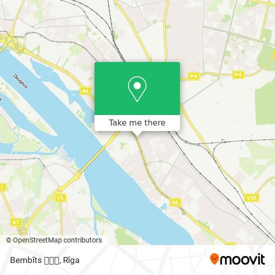 Bembīts 🚘🚘👌 map