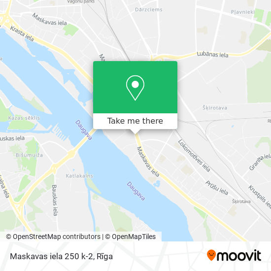 Maskavas iela 250 k-2 map
